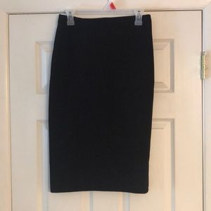 H&M Skirts - High Wasted, Knee Length Pencil Skirt